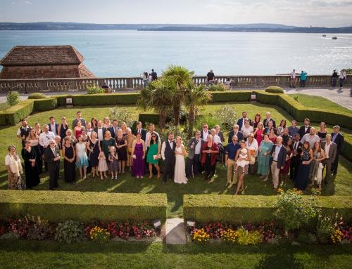 Hochzeitsfotografie Schloss Meersburg
