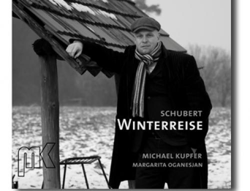 CD Cover Gestaltung für Opernsänger Michael Kupfer