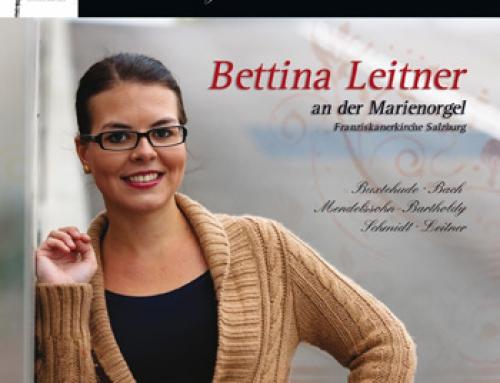 CD Cover Gestaltung Bettina Leitner – österreichische Organistin