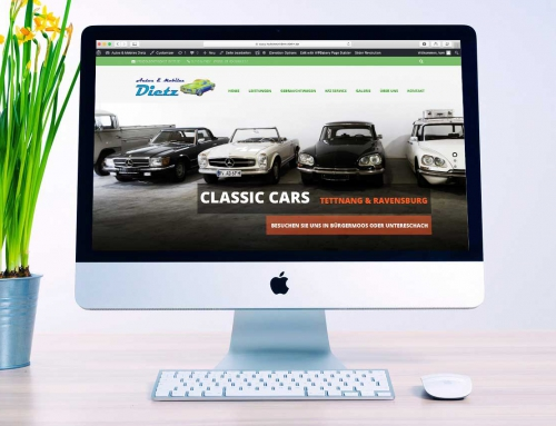 Website für Autos & Mobiles Dietz