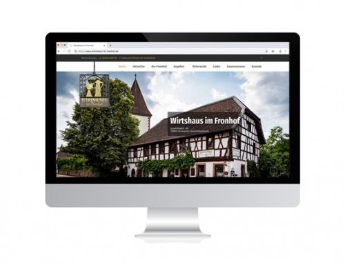 Website für Restaurant in der Pfalz