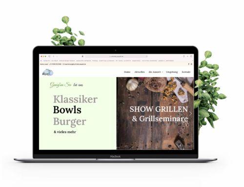 Restaurant Website für Schmids Auszeit Ostrach
