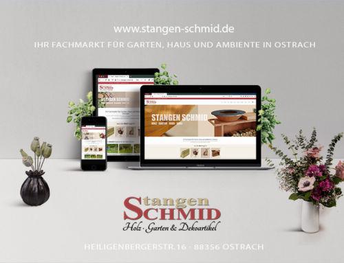 Onlineshop für Stangen Schmid Ostrach